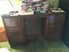 2-Den-Wood Desk