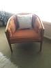1-Living Room-Orange Arm Chair