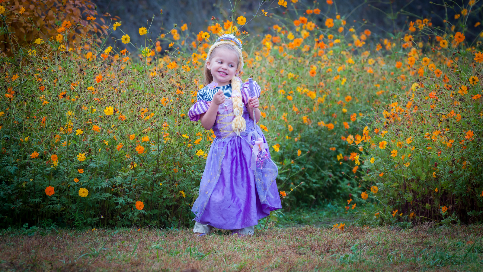 Princess in the Flowers