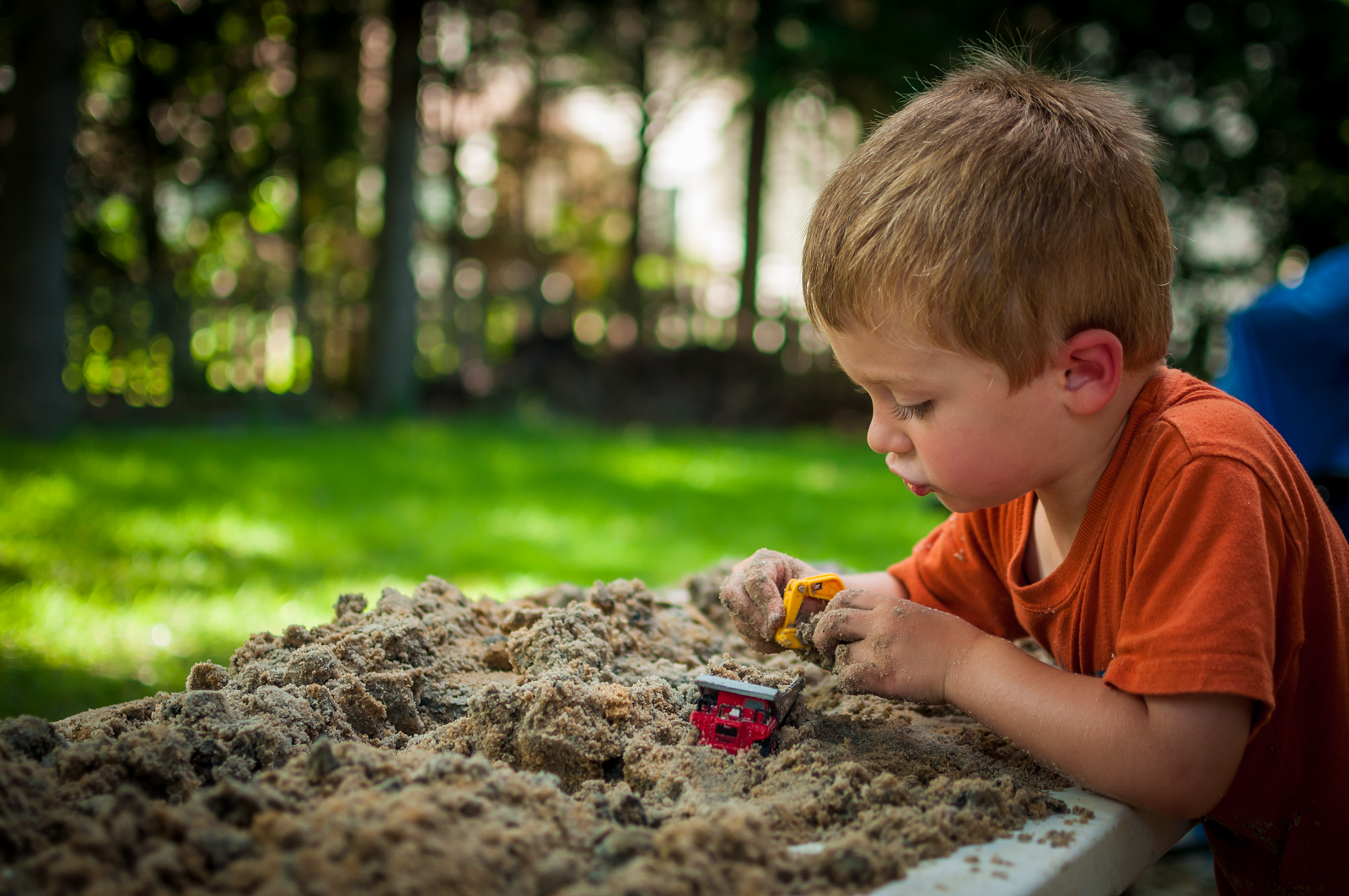 Sand, Sand, Sand - July 9