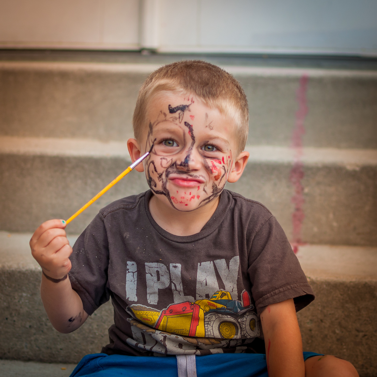 Kids Face Painting - August 6