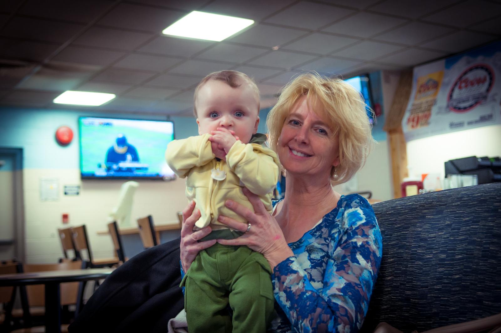 Grandma and Hayden