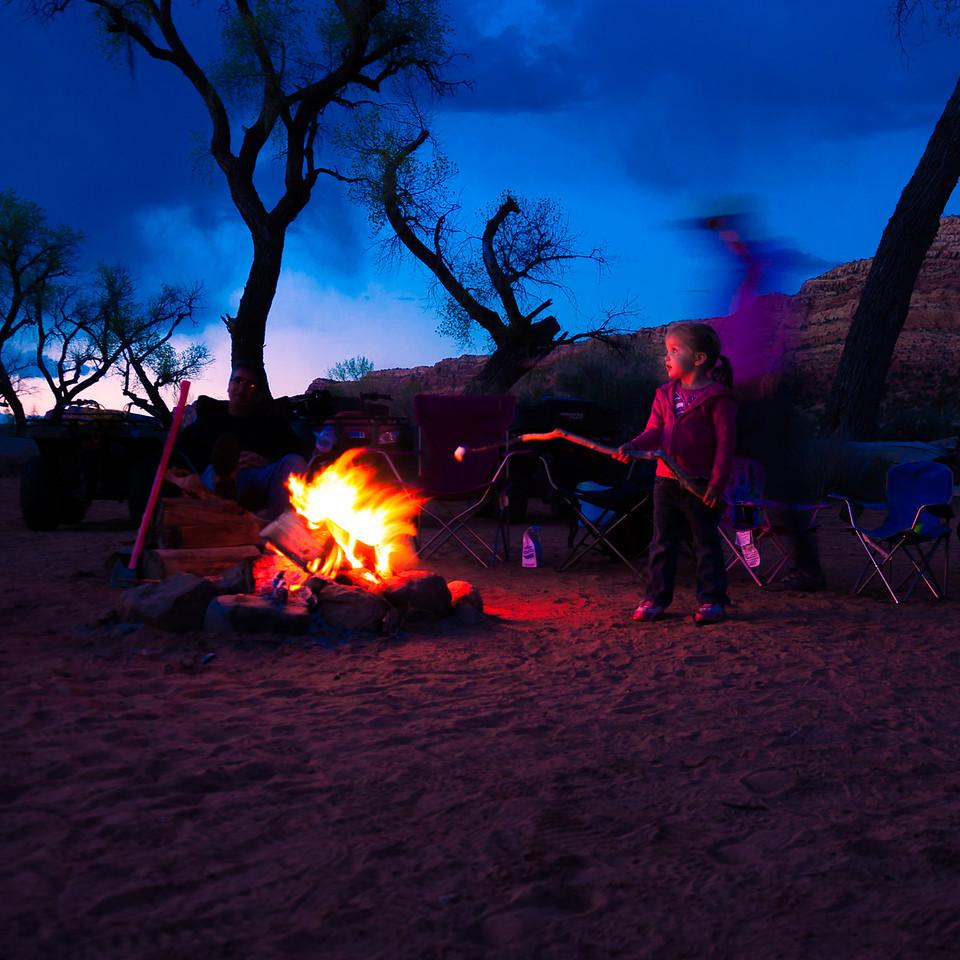 Roasting at the Campfire