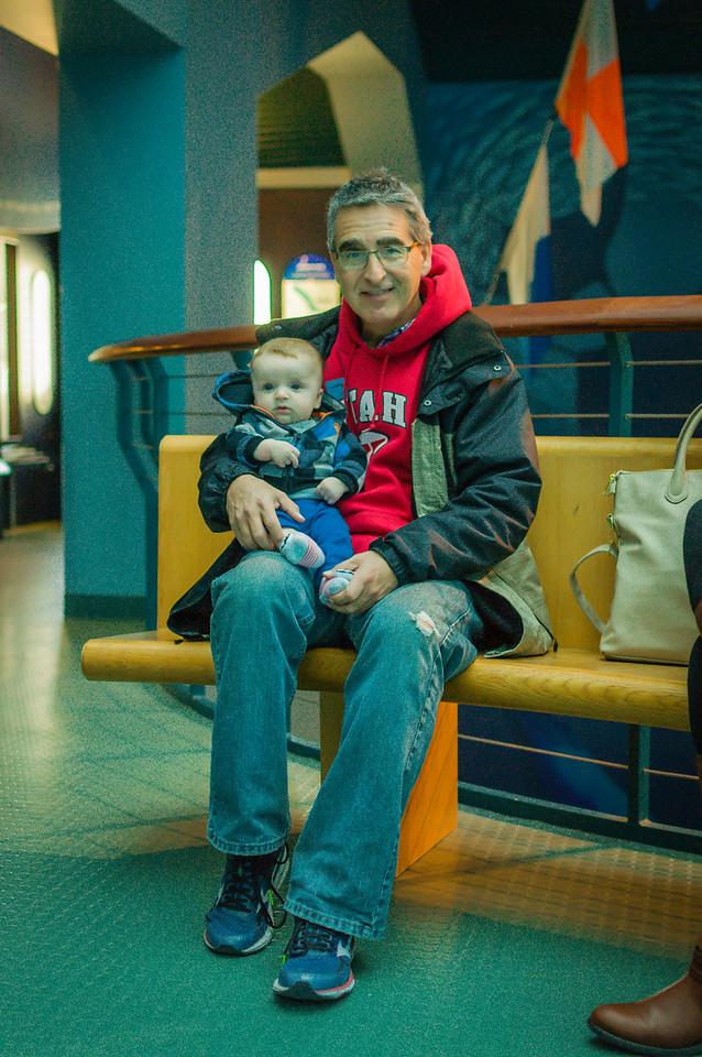Grandpa with Hayden