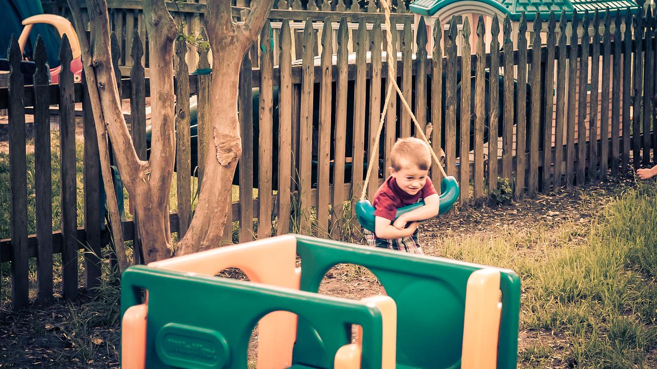 McKay caught having fun - May 18