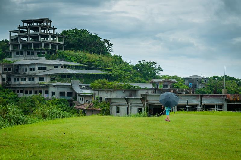 Nakgasuku Castle Ruins Panoramic