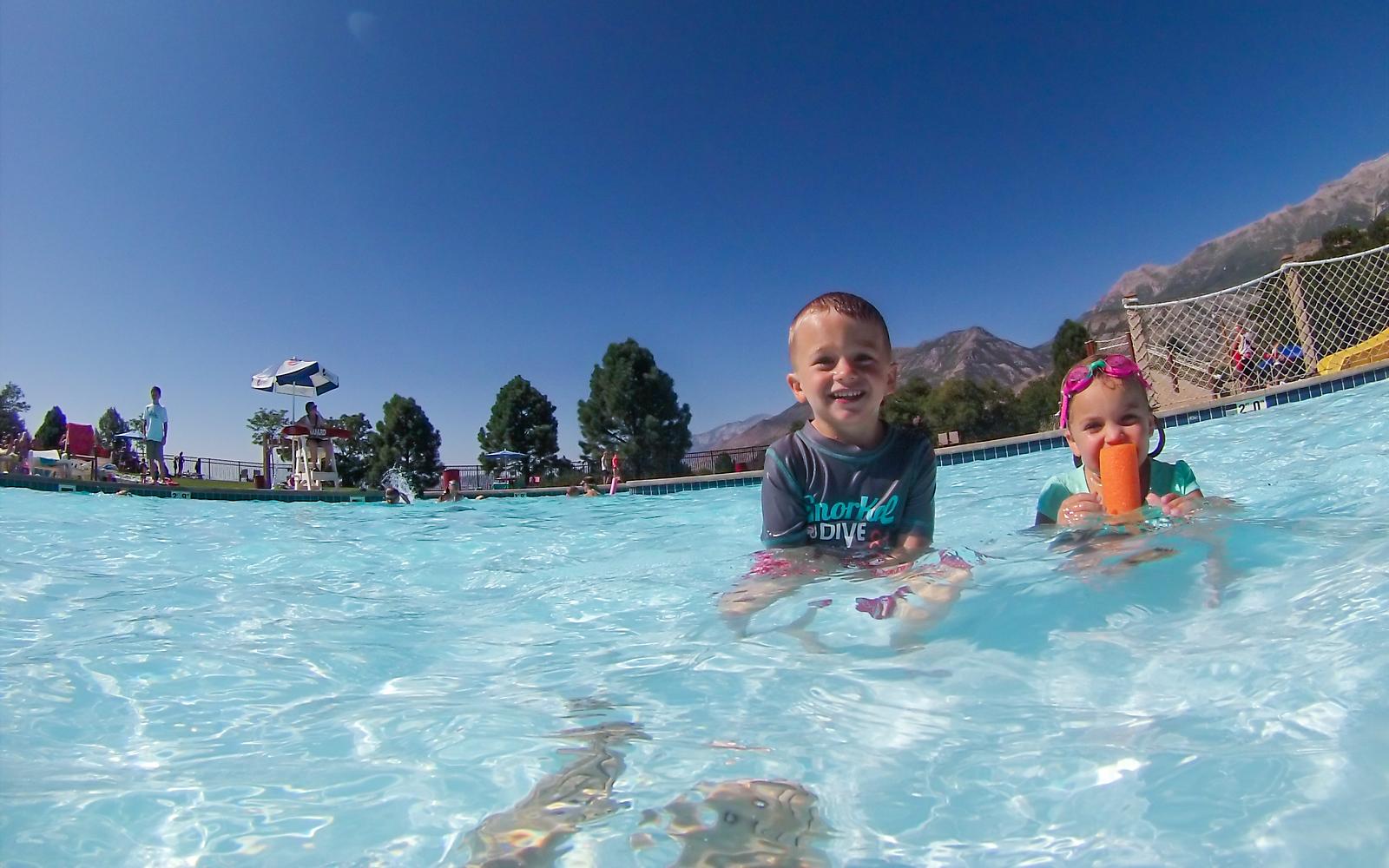 Pool Time - July 29
