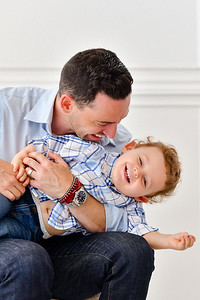Dad and son Portraits