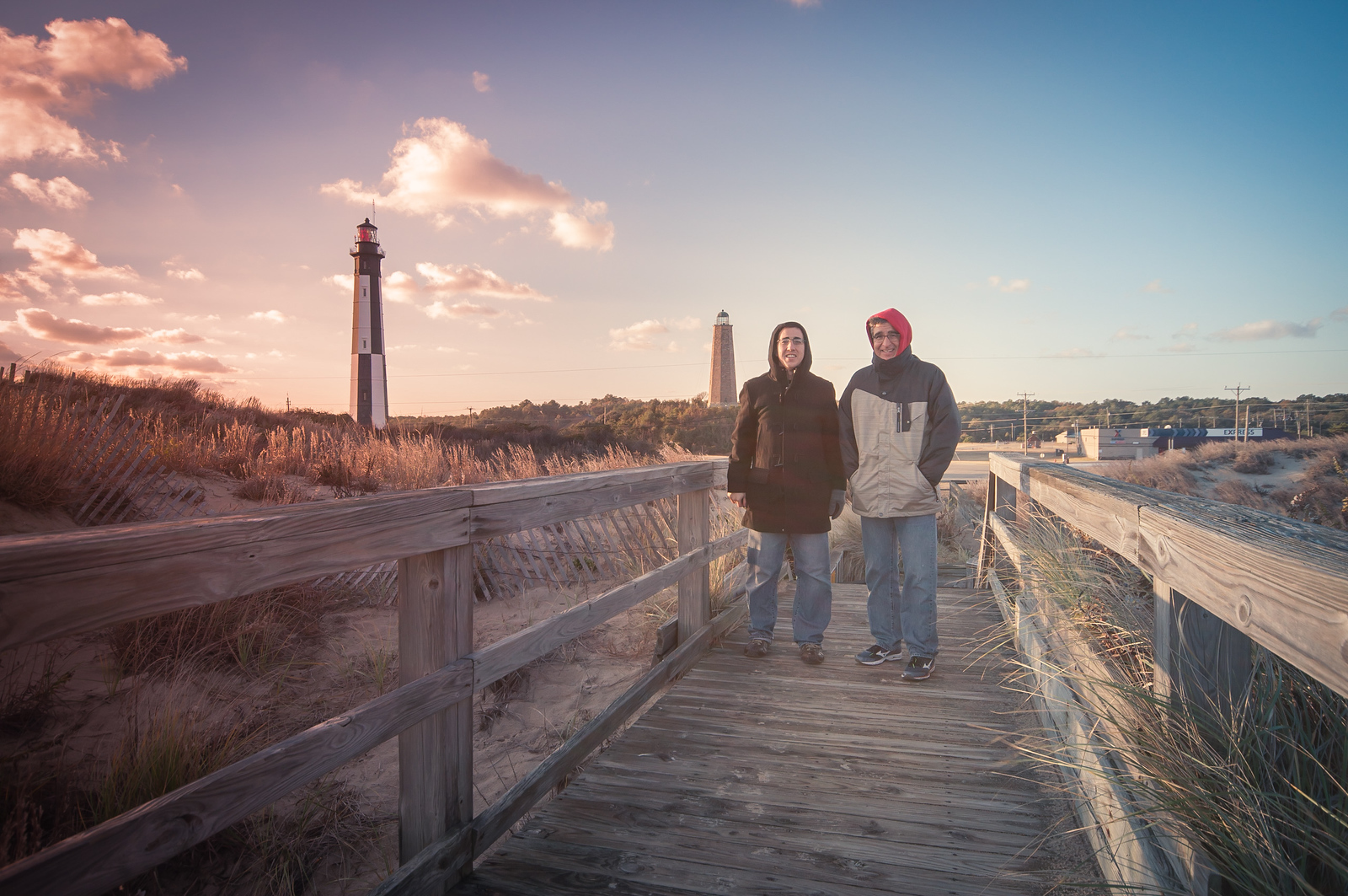 Cape Henry with Dad