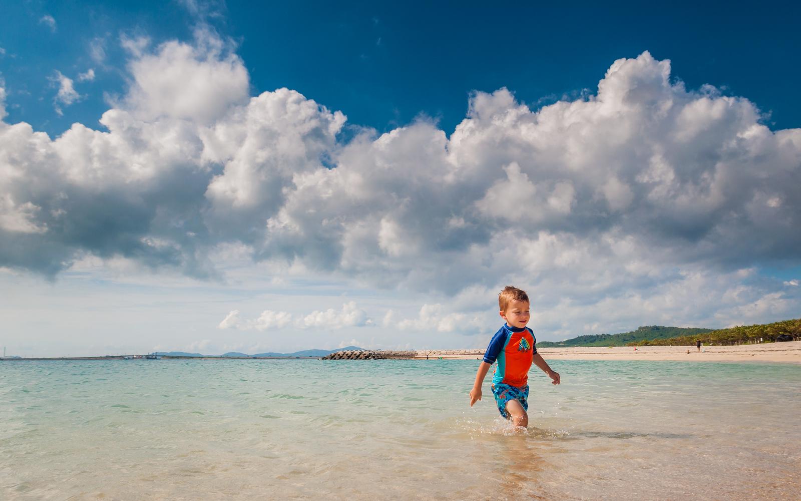 McKay at Hamashiga Island