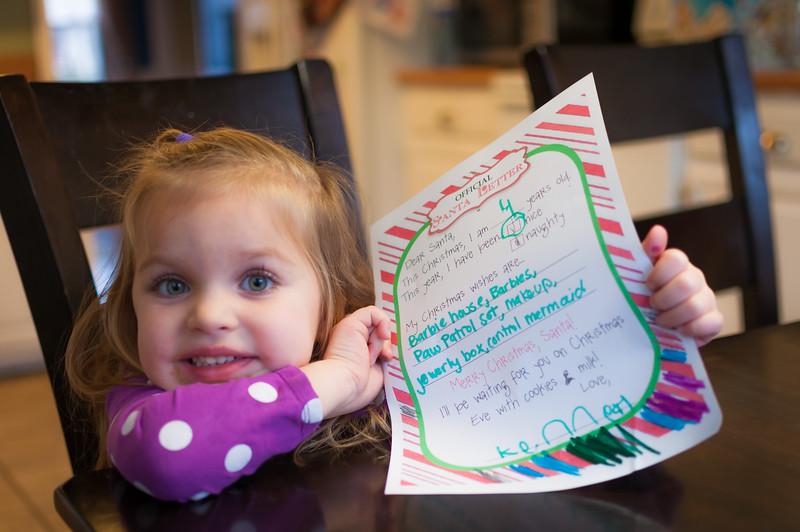 Letter's to Santa
