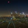 Lunar Eclipse over Downtown LA.