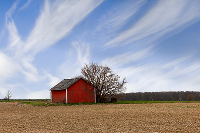 Little Red Indiana Barn