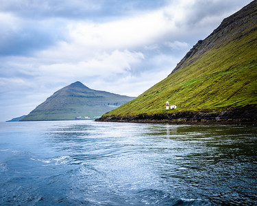 On the ferry from Klaksvik to Kalsoy, Faroe Islands.