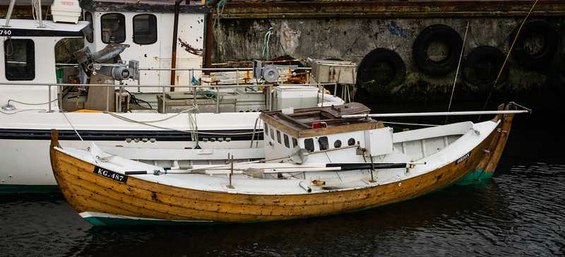 Fishing boats, Klaksvik, Faroe Islands