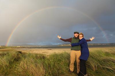 Double Rainbow!, County Donegal, Ireland. Photo courtesy of Andrew Harrer.