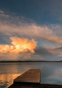 Skaneateles Lake After a Storm