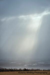 God's Rays Over Cayuga Lake