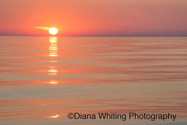Sunset on Lake Ontario