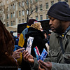 Streets vendors are everywhere, selling anything you can imagine in inaugural paraphernalia.