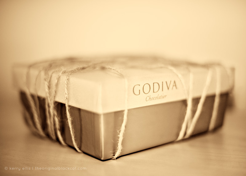 January 5, 2009 (Day 345) Abstinent: self-restrainingNew Year's Resolution #2,058.Really, why deny Godiva?