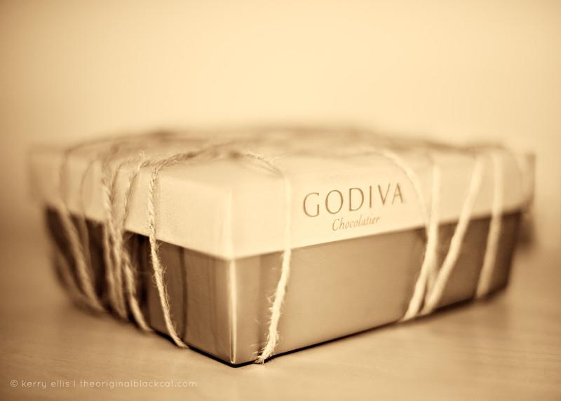 January 5, 2009 (Day 345) Abstinent: self-restrainingNew Year's Resolution #2,058.Really, why deny Godiva?