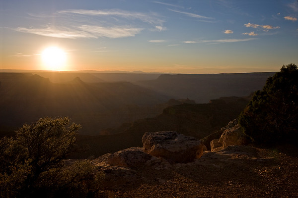 From Point Sublime, North Rim - Grand Canyon