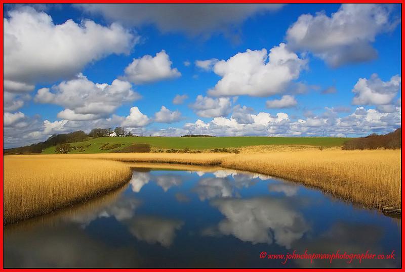 Landscape near Newburgh. Aberdeen. Scotland.