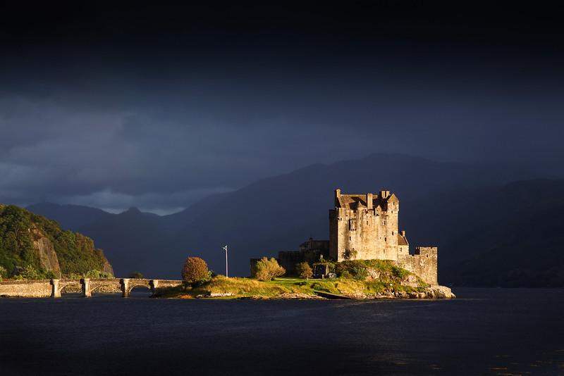 Eilean Donan Castle. Scotland. Picture in the Local Newspaper.