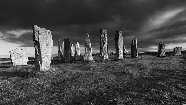 Calanais Standing Stones, Callanish, Isle of Lewis, Outer Hebrides