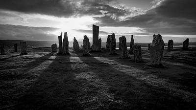 Sunrise, Calanais Standing Stones, Callanish, Isle of Lewis, Outer Hebrides