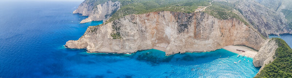 The Cliffs of Navagio Beach