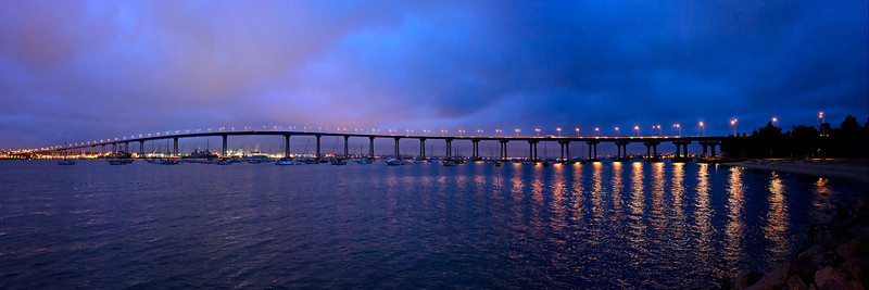 Coronado Bridge, Sunrise