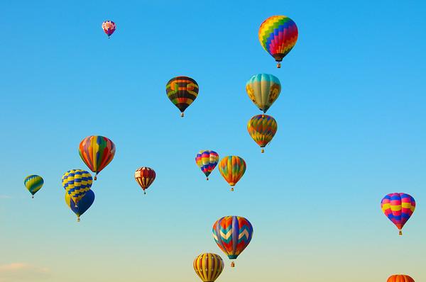 Ballons make me smile