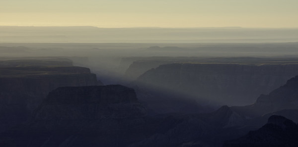 From Point Imperial, North Rim - Grand Canyon
