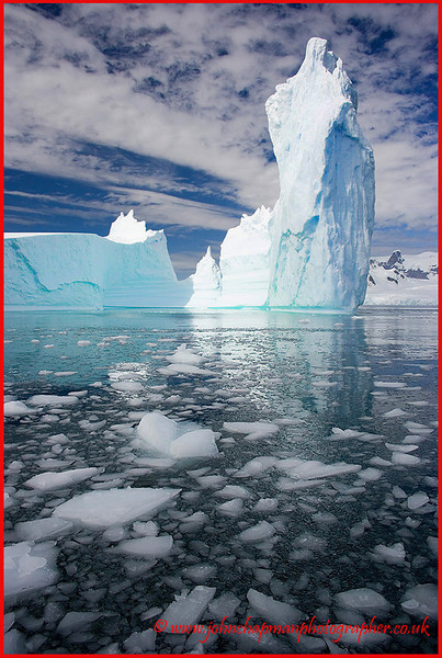 Ice Temple. Antarctica.