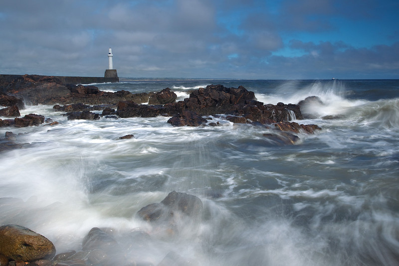 Bay of Nigg. Aberdeen. Picture in the Local Newspaper.
