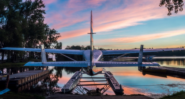 Dawn at the Seaplane Base