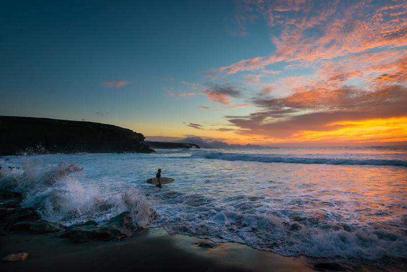 La Pared Fuerteventura Surfer
