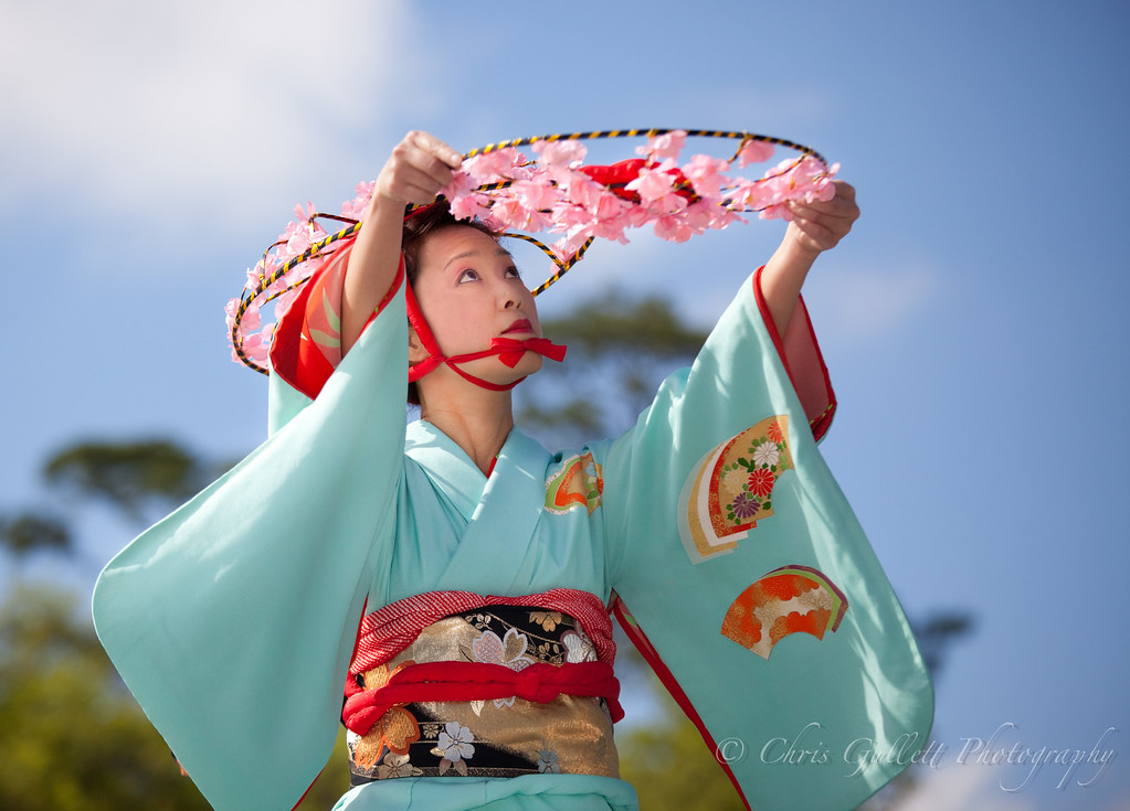 Traditional Japanese Dancer 2