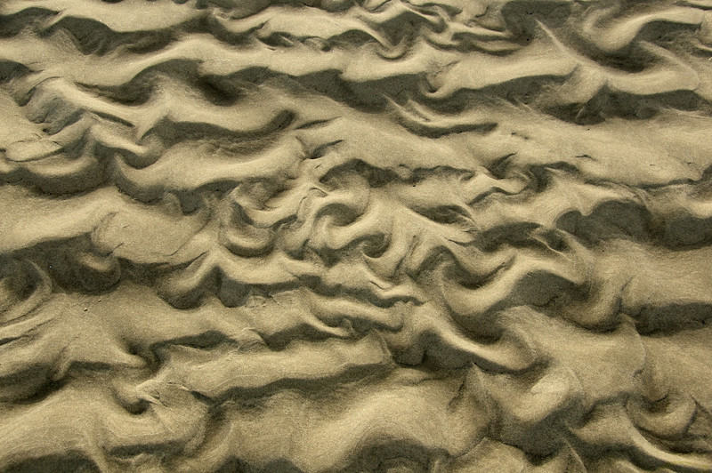 Sand on beach at Cape Cod, MA