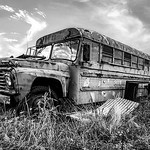 Rusty Old Bus