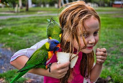 Maddi and Birds