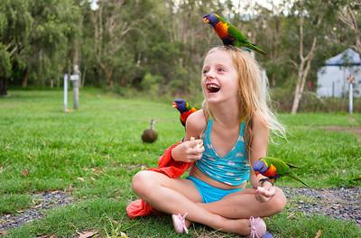 Abby and Birds