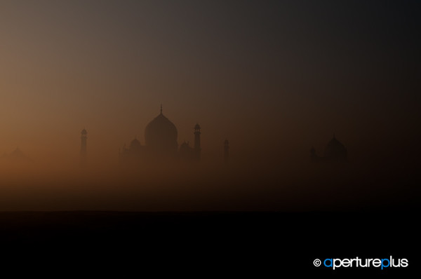 Misty Taj At Sunup