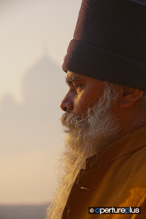 Meditation At The Taj