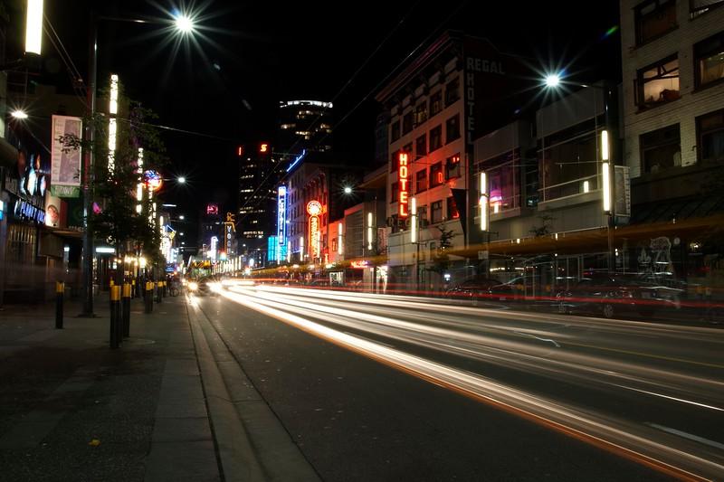 Granville Street, Vancouver, BC, Canada