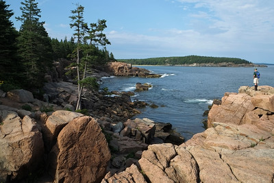 A very picturesque point along the coast of Acadia National Park.