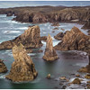 sea stacks at Mangurstadh on the Isle of Lewis