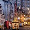 Victoria Street, Edinburgh, from the Grassmarket